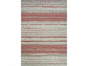 Moderní (Buklák) kusový koberec Star červený 19112-85