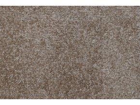 Metrážový koberec bytový Diva 80981 hnědý - šíře 4 m (Šíře role Cena za 1 m2)