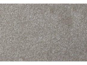 Metrážový koberec bytový Diva 80381 šedý - šíře 4 m (Šíře role Cena za 1 m2)