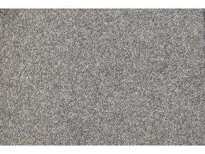 Metrážový koberec bytový Diva 34381 šedý - šíře 4 m (Šíře role Cena za 1 m2)