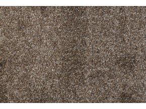 Metrážový koberec bytový Diva 11181 hnědý - šíře 4 m (Šíře role Cena za 1 m2)