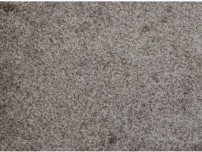Metrážový koberec bytový Fortuna 76 hnědý - šíře 4 m (Šíře role Cena za 1 m2)