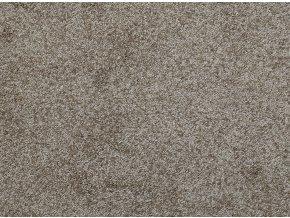 Metrážový koberec bytový Fortuna 70 hnědý - šíře 4 m (Šíře role Cena za 1 m2)