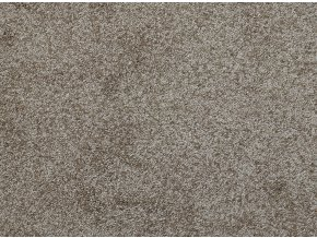 Metrážový koberec bytový Fortuna 70 hnědý - šíře 5 m (Šíře role Cena za 1 m2)