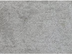 Metrážový koberec bytový Fortuna 73 šedý - šíře 4 m (Šíře role Cena za 1 m2)