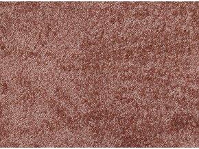 Metrážový koberec bytový Shine 35 růžový - šíře 4 m