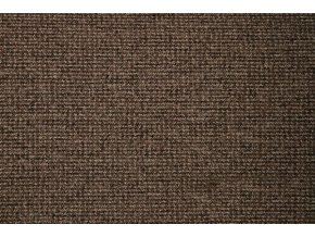 Metrážový koberec zátěžový Tweed 42 hnědý - šíře 4 m (Šíře role Cena za 1 m2)
