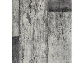 Zátěžové PVC metráž Chrometex Tavel 597 dekor dřeva - šíře 4 m (Šíře role Cena za 1 m2)