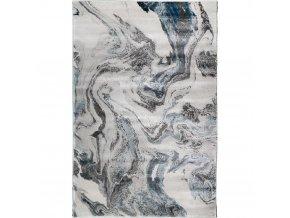 Moderní kusový koberec Rowan 23310-953 | modrý