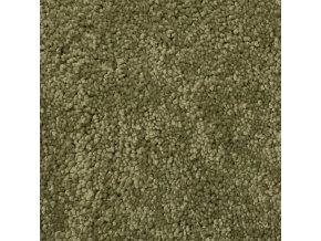 Metrážový koberec bytový Udine   zelená - šíře 4 m (Šíře role Cena za 1 m2)