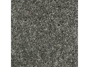 Metrážový koberec bytový Udine   šedá - šíře 4 m (Šíře role Cena za 1 m2)