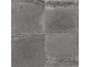 PVC bytové FORTEX GREY 2933 dekor keramický - šíře 4 m (Šíře role Cena za 1 m2)
