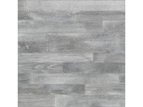 PVC bytové FORTEX GREY 2934 dekor dřeva - šíře 4 m (Šíře role Cena za 1 m2)