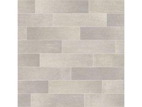 PVC bytové FORTEX GREY 2937 dekor keramický - šíře 2 m (Šíře role Cena za 1 m2)