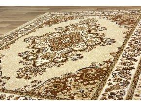 Klasický kusový koberec Metal 516A l.beige | béžový