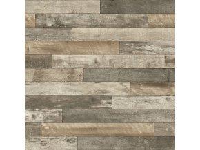 PVC bytové DOMO 2154 dekor dřevěný - šíře 2 m (Šíře role Cena za 1 m2)