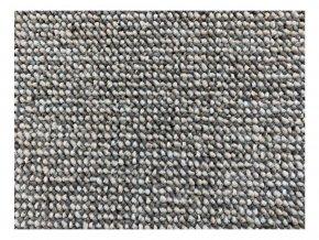 Moderní kusový koberec Porto 60x110 cm šedý