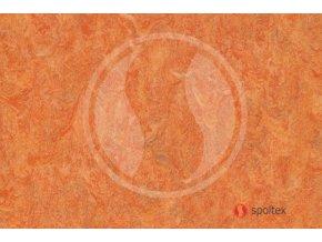 PVC zátěžové Diamond Forte 4213-465 dékor oranžový