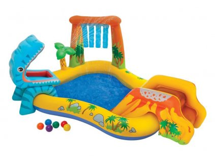 INTEX Bazén Dinosaur play center 249x191x109cm 57444 | 57444NP