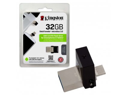 Flash disk Kingston USB 3.0 Android/OTG MicroDuo 32GB