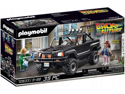 PLAYMOBIL 70633 Pickup Martyego BACK TO THE FUTURE
