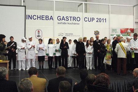 Výstava Gastro Danubius 2011