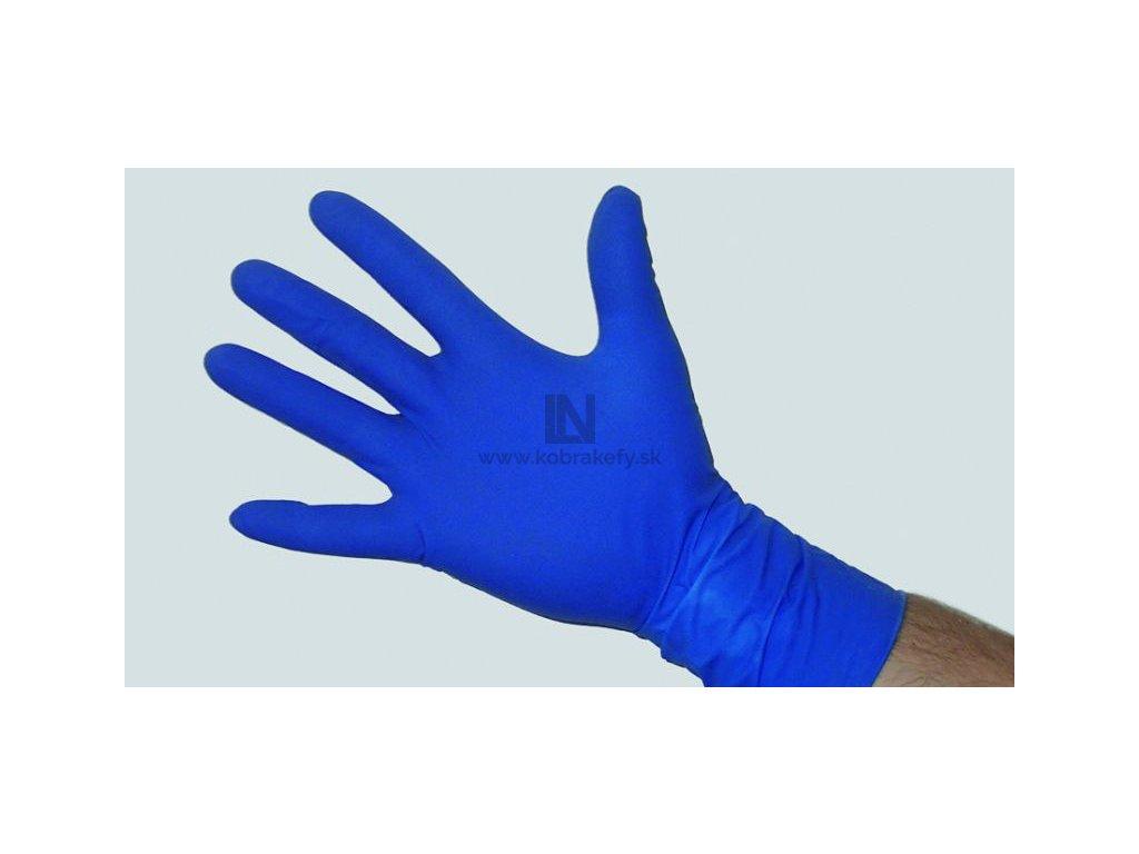 878 Latexové rukavice hrubé modré - kobrakefy.sk cf80fa58bb