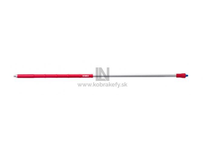 549 824 Ergonomická PP a hliníková násada s prietokom, 1500 mm,  Ø 32 mm