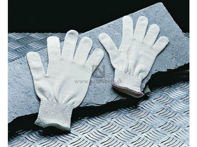 859 Bavlnené rukavice s gumičkou