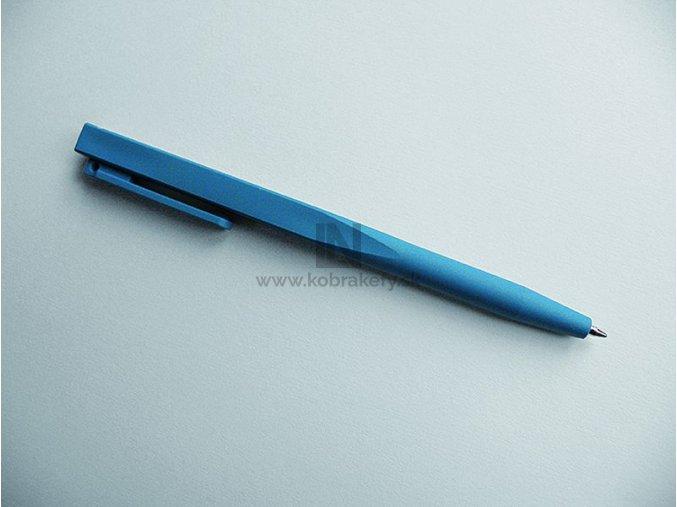DET-1027 Detekovateľné jednodielne pero so sponou - hranaté