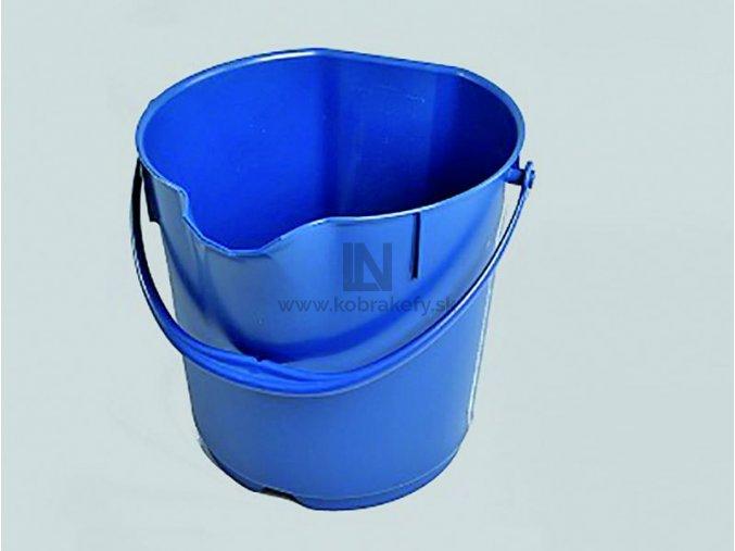 DET-1084 Detekovateľné plastové vedro s vekom 15l
