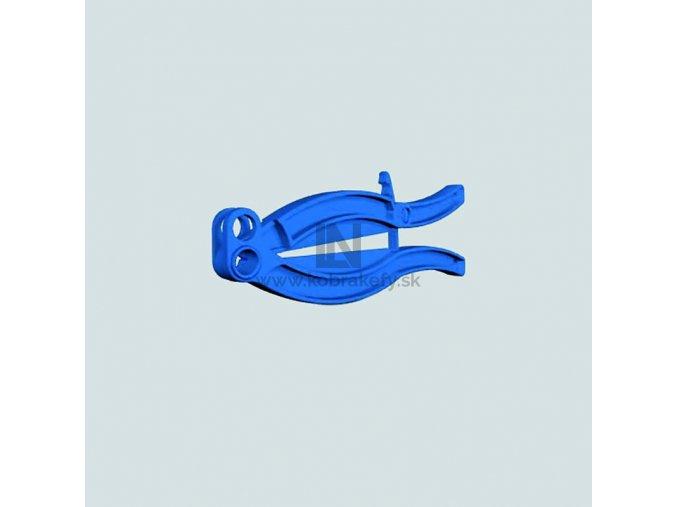 DET-1095 Detekovateľný plastový uzatvárač vriec - 30 cm