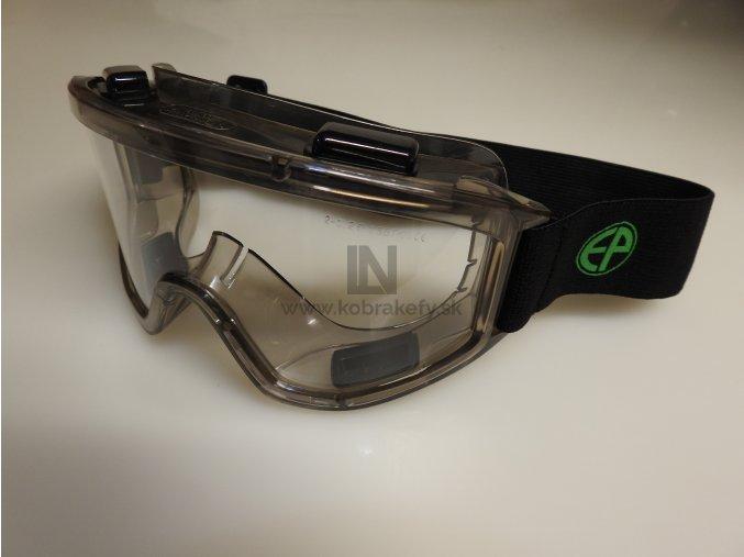 1207/2 Ochranné okuliare pracovné- číre