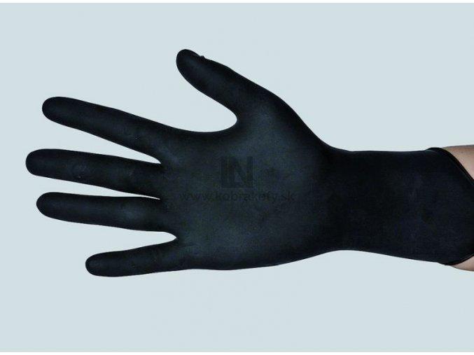 872 Nitrilové rukavice čierne