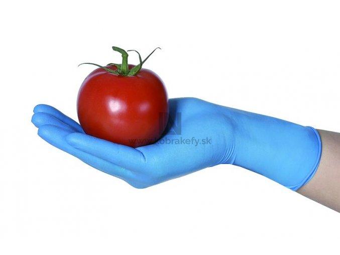 Nitrilova rukavica hruba modra kobrakefy