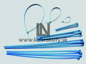 DET-1103 Detekovateľné káblové spoje farebné 390 x 7,5 mm