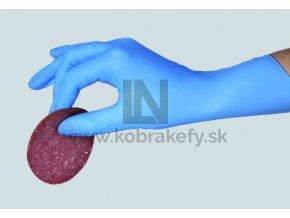 nitrilove rukavice modra