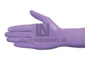 nitrilove rukavice fialova
