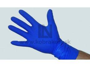 Latexove rukavice hrube modre kobrakefy 2