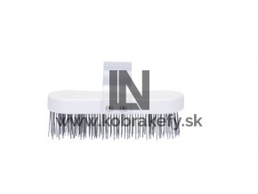 598 834 Kefa na mäsiarsky klát - oceľový drôt 40 mm plochý 185 x 80 mm