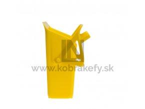 580 201 Lopatka zametacia na násadu plastová PP 310 x 330 x 125 mm