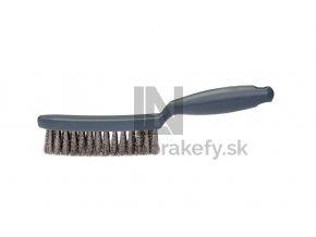 515 999 Kefa s rúčkou drôtená V4A 0,25 x 30 mm vlnitá štetina 4-radová 285 x 30 mm