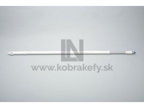5949828 ergonomicka teleskopicka hlinikova nasada s prietokom 1200 2000 mm 32 mm
