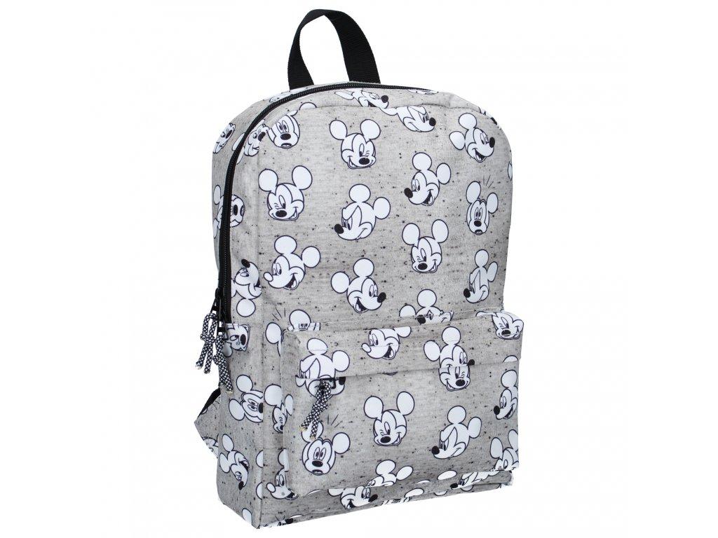 Dětský batoh Mickey Mouse Go For It! Disney Fashion šedý malý