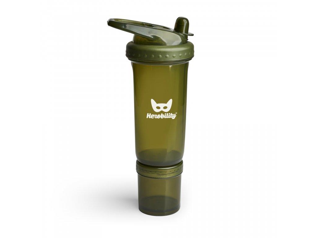 Dětská Sportovní láhev s brčkem 300ml zelená