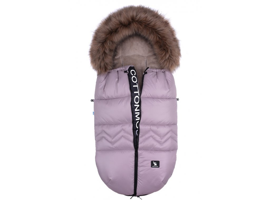 Zimní Fusak North Cottonmoose s kožešinou Latté