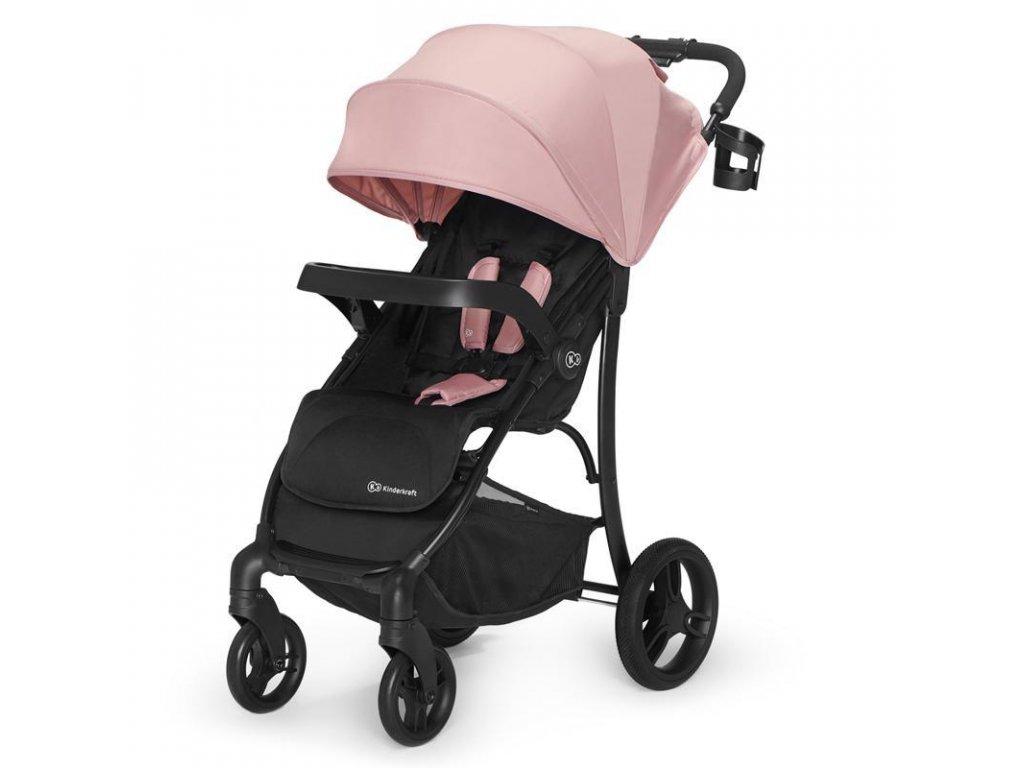 Kočárek sportovní Cruiser pink Kinderkraft 2020