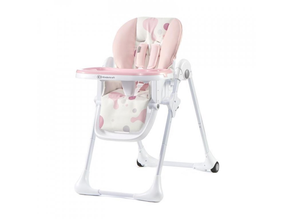 Židlička jídelní YUMMY pink Kinderkraft 2020