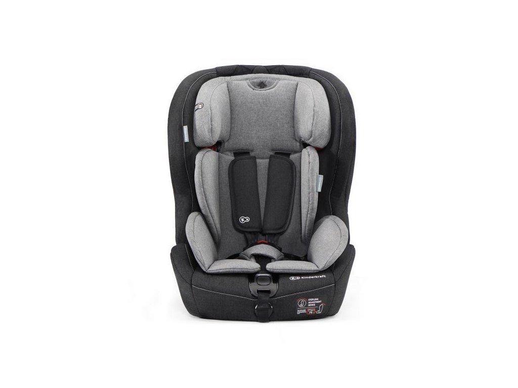 Autosedačka SAFETY-FIX Isofix Black/Gray 9-36 kg Kinderkraft 2020