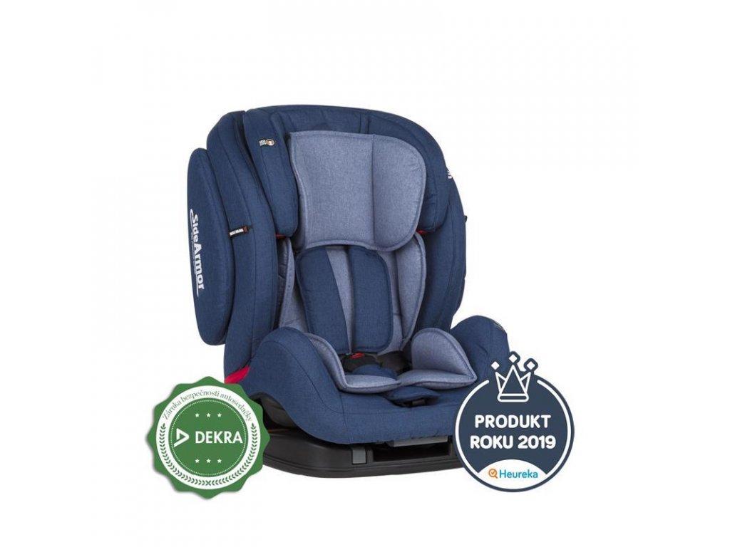 PETITE&MARS Autosedačka Prime II (9-36 kg) - Isofix Blue 2020
